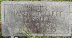 Nancy <i>Tollett</i> Hassler