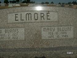 Mary Elizabeth Mary Wiz <i>Blount</i> Elmore