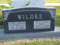 Harry Edward Ed Wildes