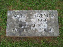 Virginia M <i>Wilson</i> Overton