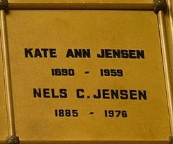 Kate Ann Nan <i>Lobban</i> Jensen