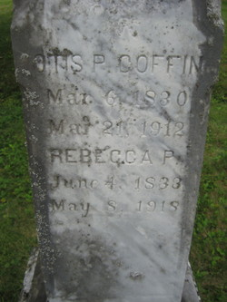 Rebecca P. <i>Johnson</i> Coffin