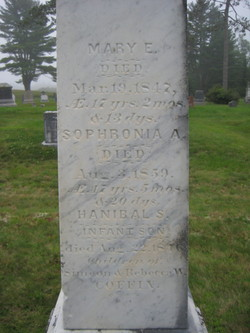 Sophronia A Coffin