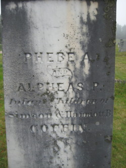 Phebe A Coffin