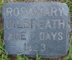 Bertha Rosamary Gilbreath