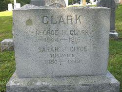 Sarah J. <i>Clyde</i> Clark