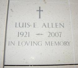 Luis E Allen
