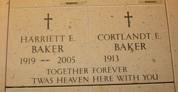 Harriett Elizabeth <i>Fitzpatrick</i> Baker