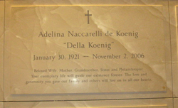 Adelina Della Koenig <i>Naccarelli</i> De Koenig