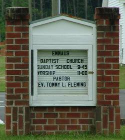 Emmaus Baptist Church Cemetery