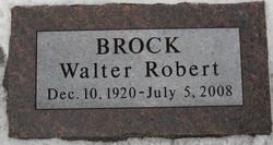 Walter Robert Wally Brock