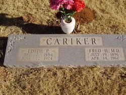 Edith Priscilla <i>Confer</i> Cariker