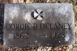 Cordelia Margaret Cordie <i>BOYD</i> Delaney