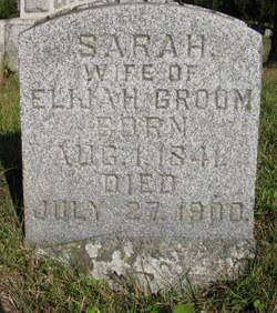Sarah Sally <i>Hammonds</i> Groom