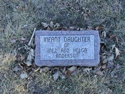 Infant Daughter Anderson
