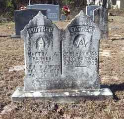 Martha A. <i>Parker</i> Jordan