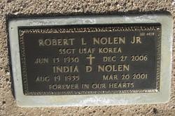 India <i>Dean</i> Nolen