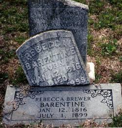 Rebecca <i>Brewer</i> Barentine