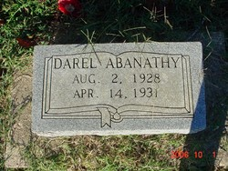 William Darel Abanathy