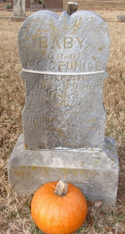 Baby Son of E.S. and Eunice Baker