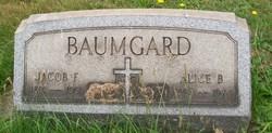 Alice B. <i>Daniels</i> Baumgard
