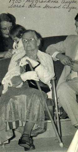 Sarah Clara Sally <i>Stewart</i> Anyan