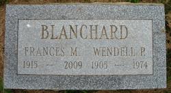 Frances M <i>Reed</i> Blanchard