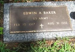 Edwin Alfonso Baker, Sr