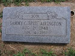 Sammy C. Spud Airington