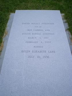 David Julius D.J. Atkinson, Sr