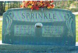 Martha Lula <i>Millsaps</i> Sprinkle