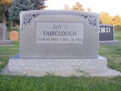 Roy J Fairclough