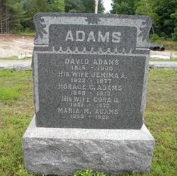 Cora Genevieve <i>Taft</i> Adams