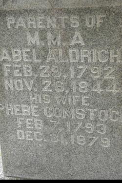 Phebe <i>Comstock</i> Aldrich