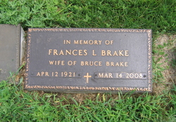 Frances Lillian <i>Miller</i> Brake
