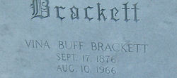 Vina Sarah <i>Buff</i> Brackett