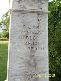 Elsie Ann Heslop