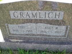 Alice M. Gramlich