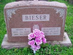 Elizabeth Theresa <i>Weiler</i> Bieser