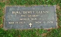 PFC Burl Dewey Glenn