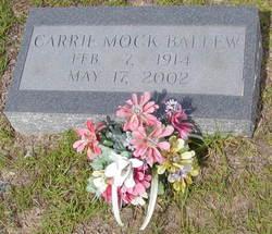Carrie <i>Mock</i> Ballew