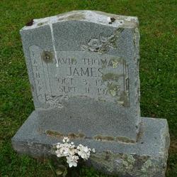 David Thomas James
