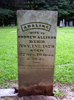 Adaline <i>Johnson</i> Allison