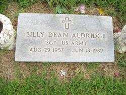 Sgt Billy Dean Aldridge