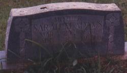Sarah Katherine <i>Martin</i> Adams