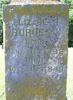 Elizabeth Burgess