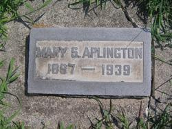 Mary Sophia <i>Oliver</i> Aplington