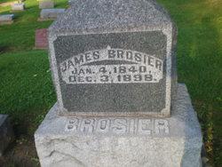 Pvt James Brosier