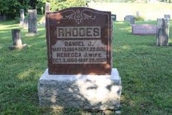 Rebecca Jane <i>Marsh</i> Rhodes