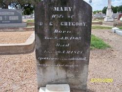 Mary <i>Fant</i> Gregory